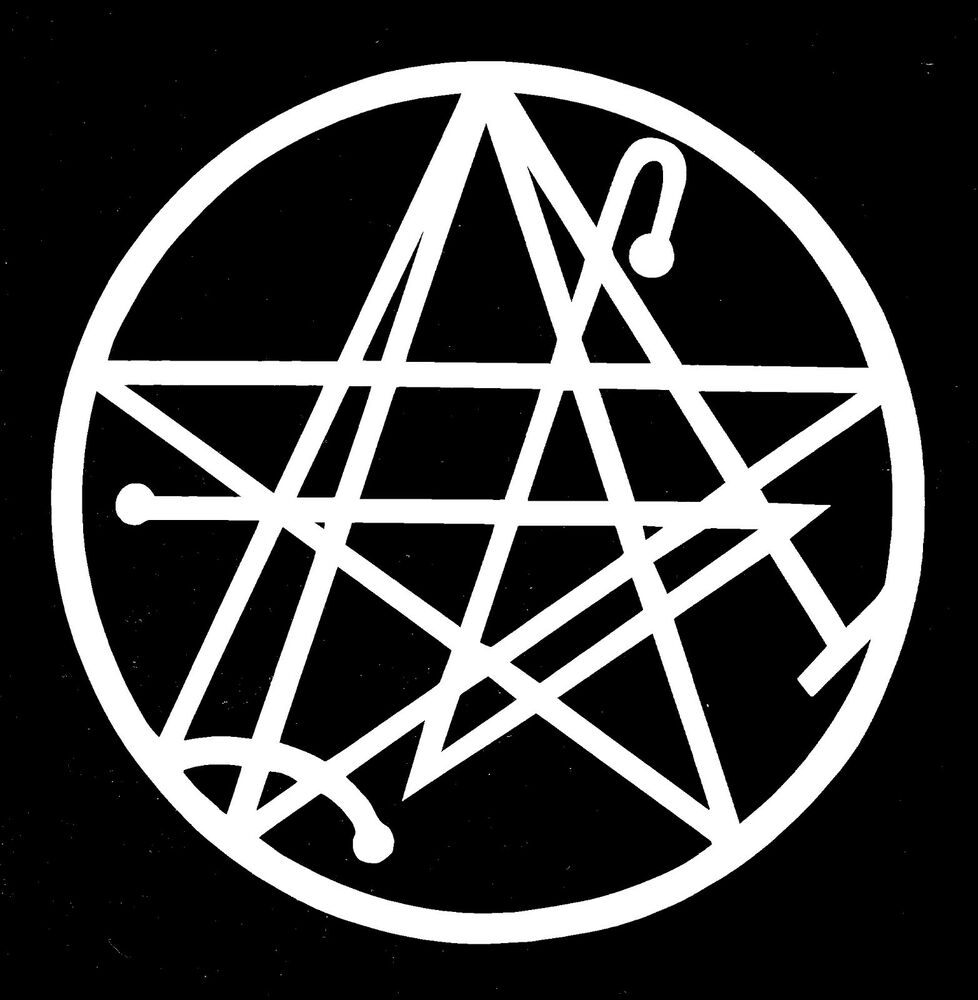 Necronomicon Gate Vinyl Decal Sticker Ebay