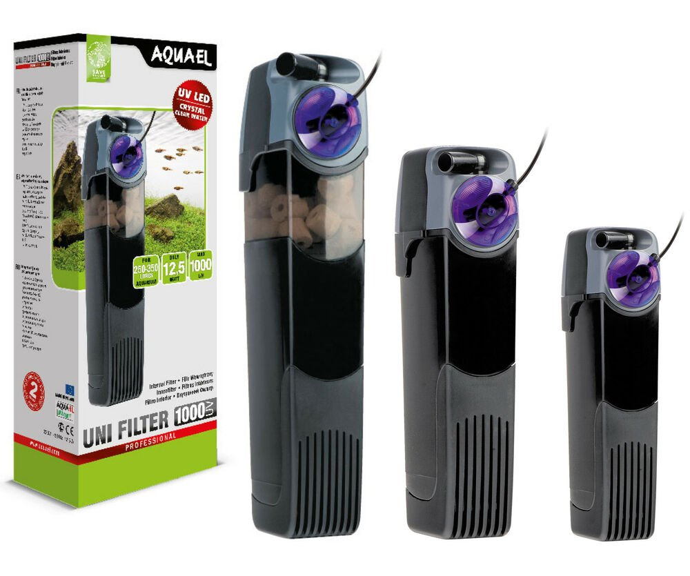 Aquarium innenfilter aquael unifilter uv kompl serie for Aquarium innenfilter