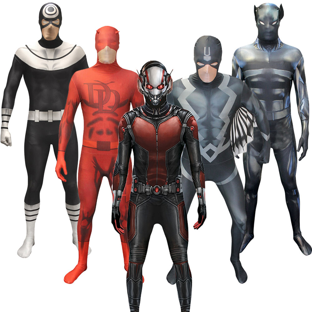 Marvel Malvorlagen Marvel Superhero The Marvel Super: Marvel Superheroes Morphsuit Ant Man Black Bolt Bullseye
