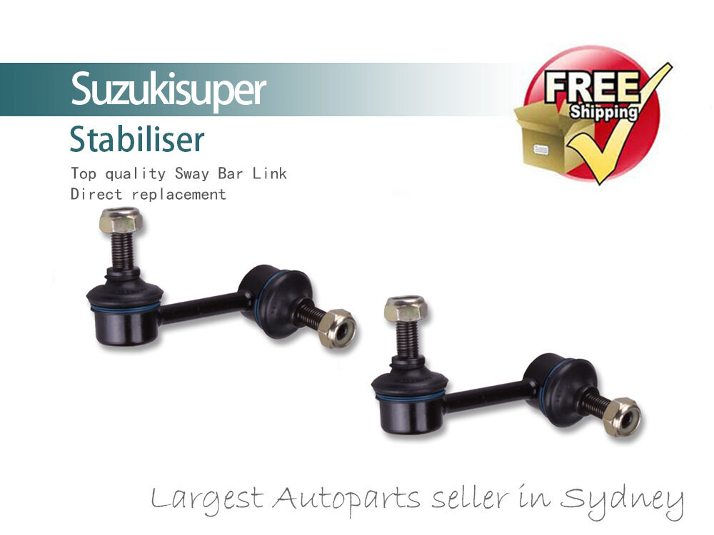 2 x front sway bar link kit bushes honda crv sway bar stabiliser 1997 2001 pair ebay. Black Bedroom Furniture Sets. Home Design Ideas