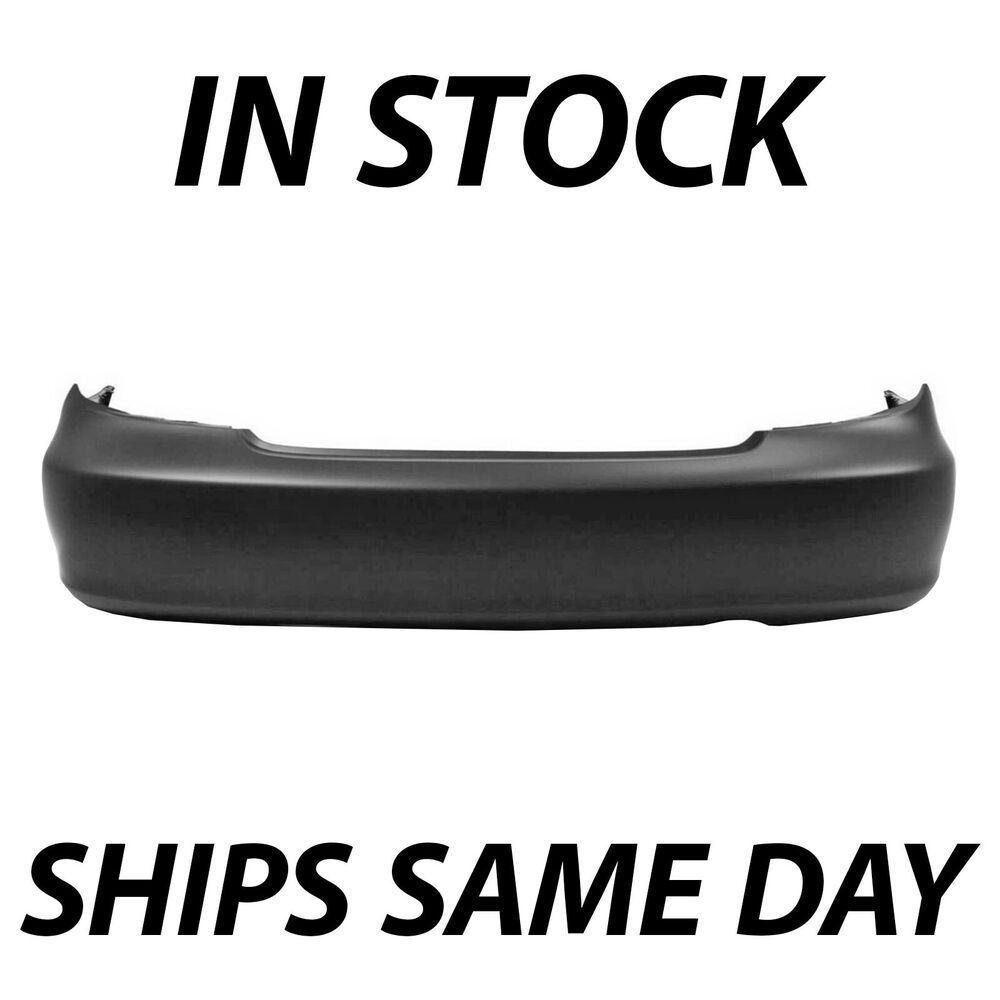 new primered rear bumper cover replacement for 2002 2006. Black Bedroom Furniture Sets. Home Design Ideas