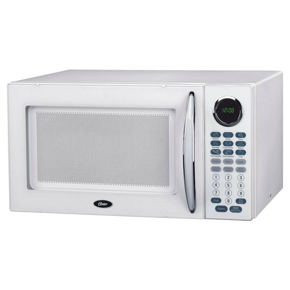 Oster 1 1 Cu Ft 1000 Watt Microwave Oven White