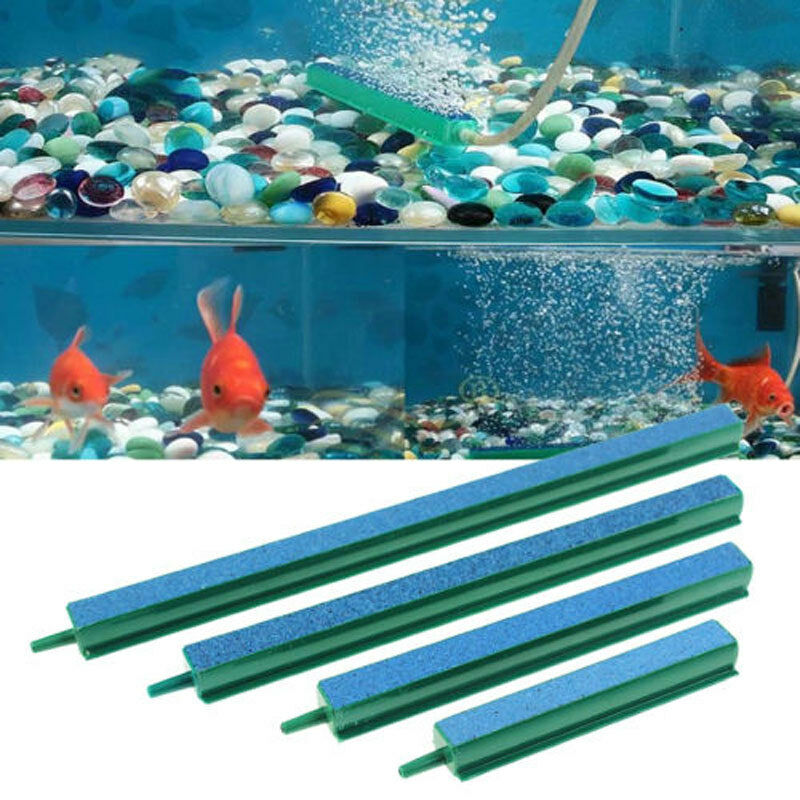 Aquarium Fish Tank Air Stone Bubble Bar Curtain Wall