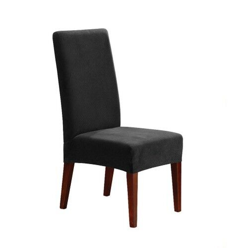 Stretch Pique Short Dining Chair Slipcover Sure Fit Ebay
