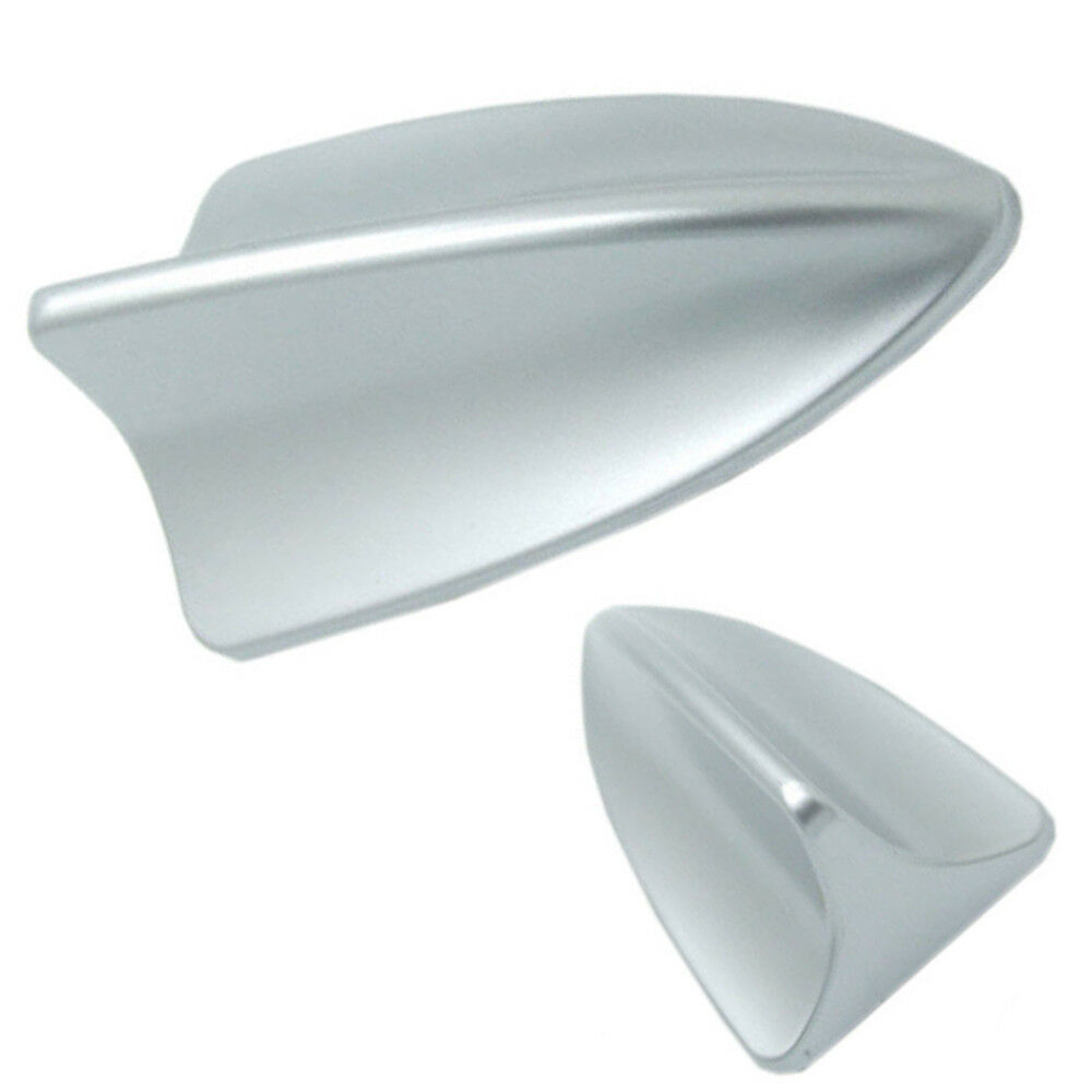 Antenna Aerial Silver Car Shark Fin Roof Bmw Style