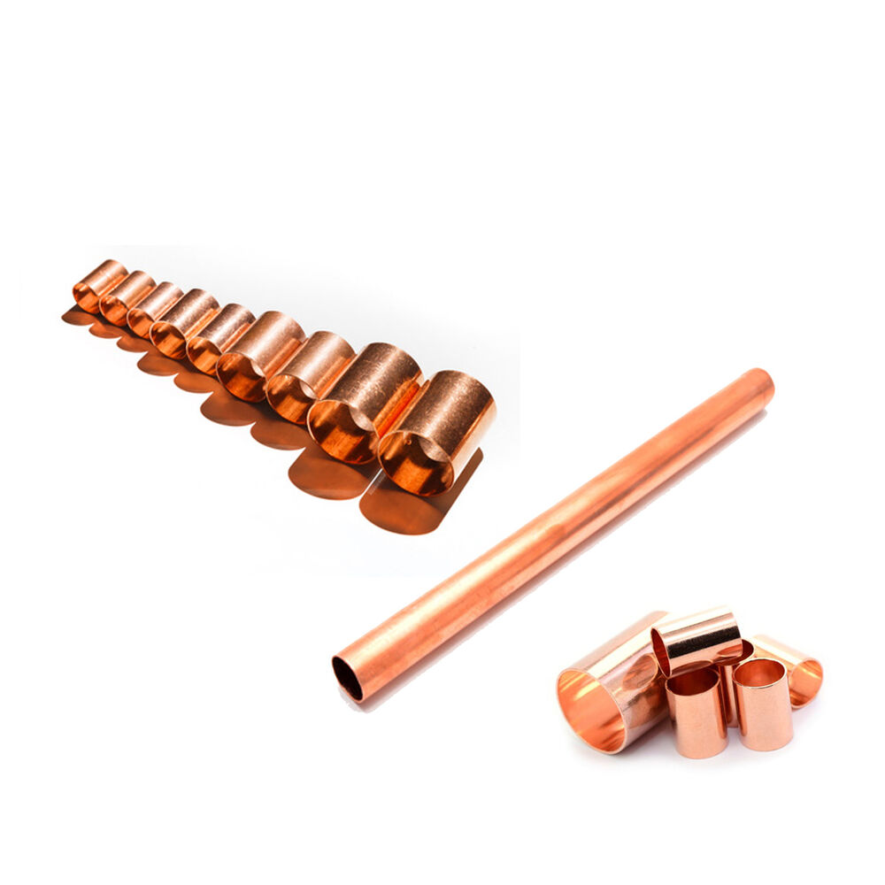 Copper pipe tube 6mm 8mm 10mm 15mm 22mm diy copper tube for Copper pipe for water