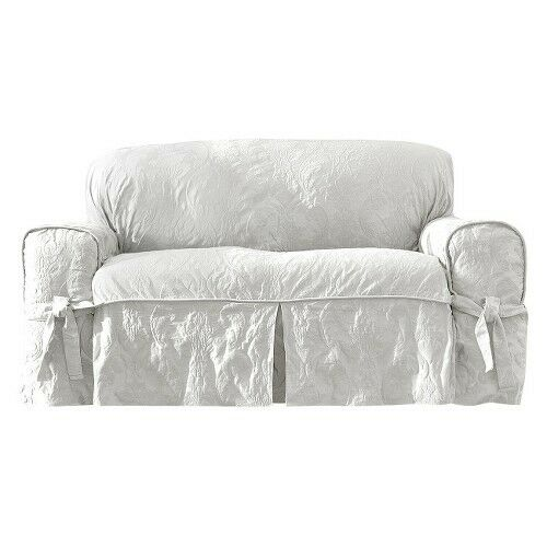 Sure Fit Matelasse Damask Slipcovers Ebay