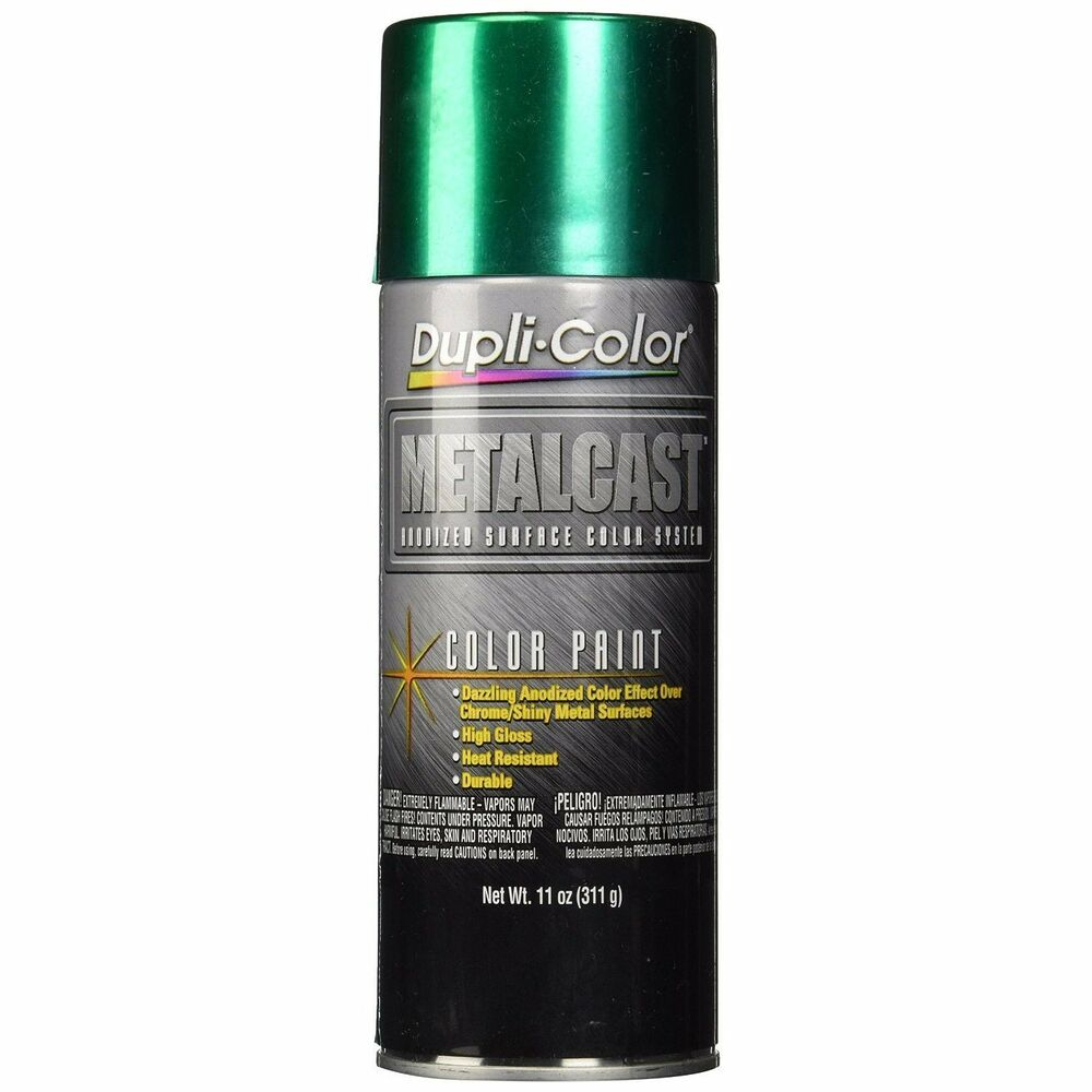 Duplicolor Mc203 Metal Cast Green Anodized Spray Paint