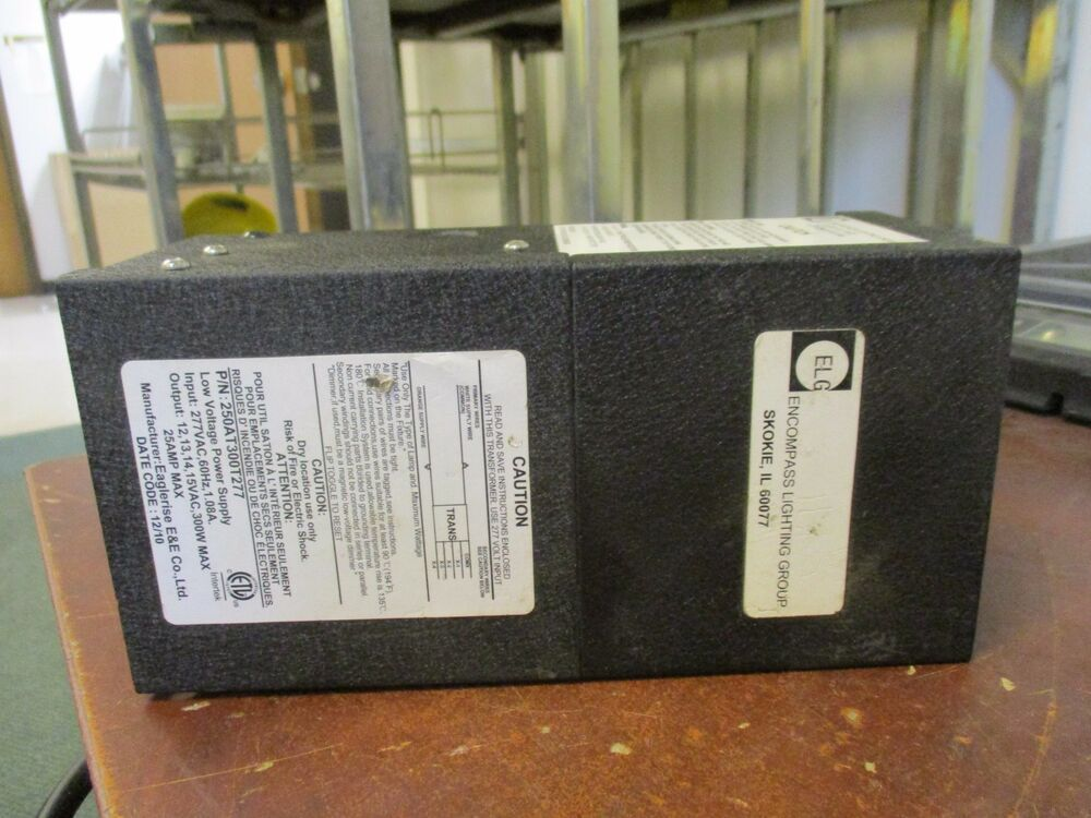 Eaglerise Lighting Transformer 250AT00T277 Used | EBay