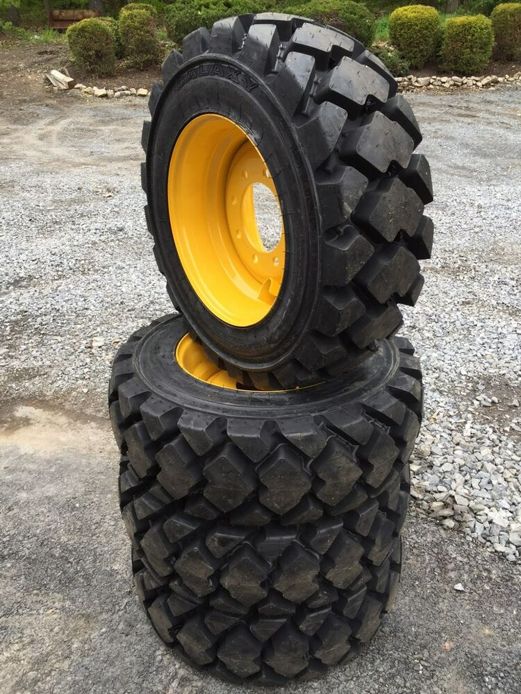 New Holland Tire Rims : Galaxy hulk l hd skid steer tires wheels rims