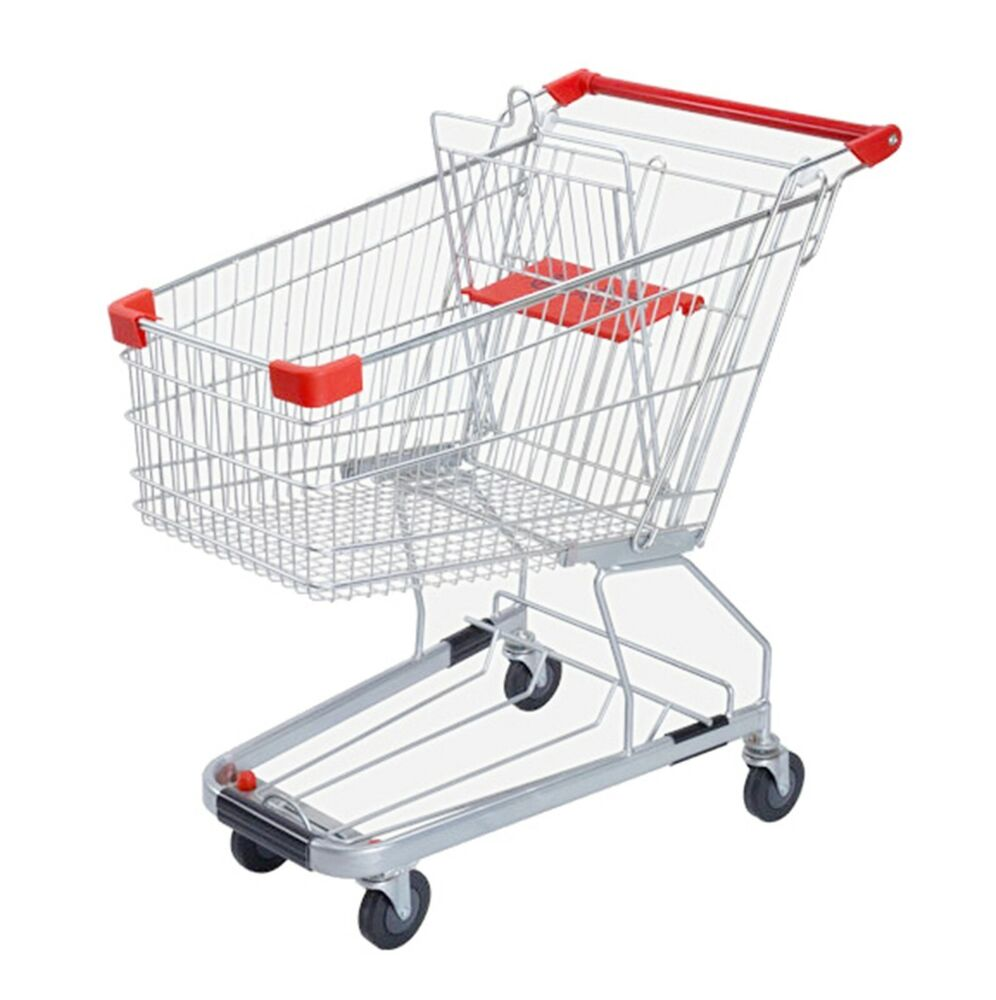 4 4 Cubic Foot 125 L Shopping Cart Grocery Supermarket