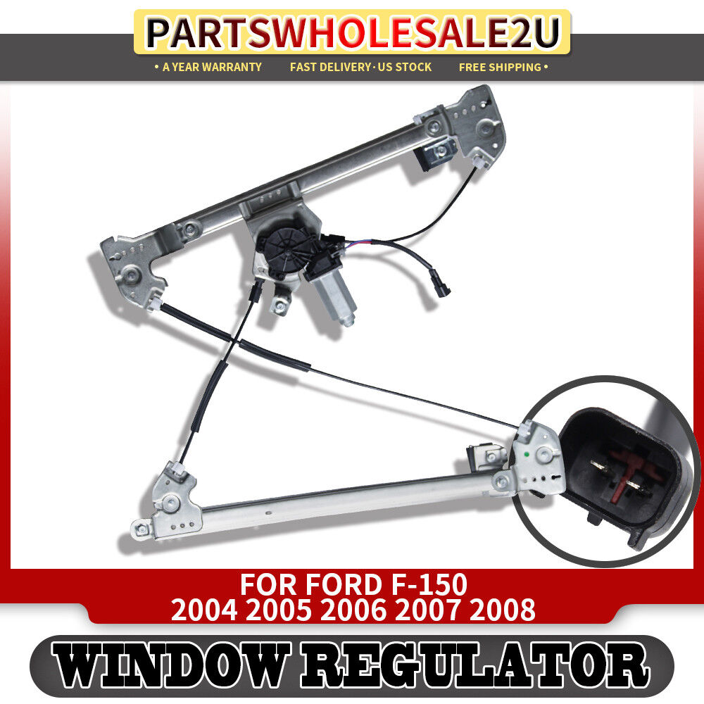Front left window regulator with motor for ford f 150 2004 for 04 f150 window regulator