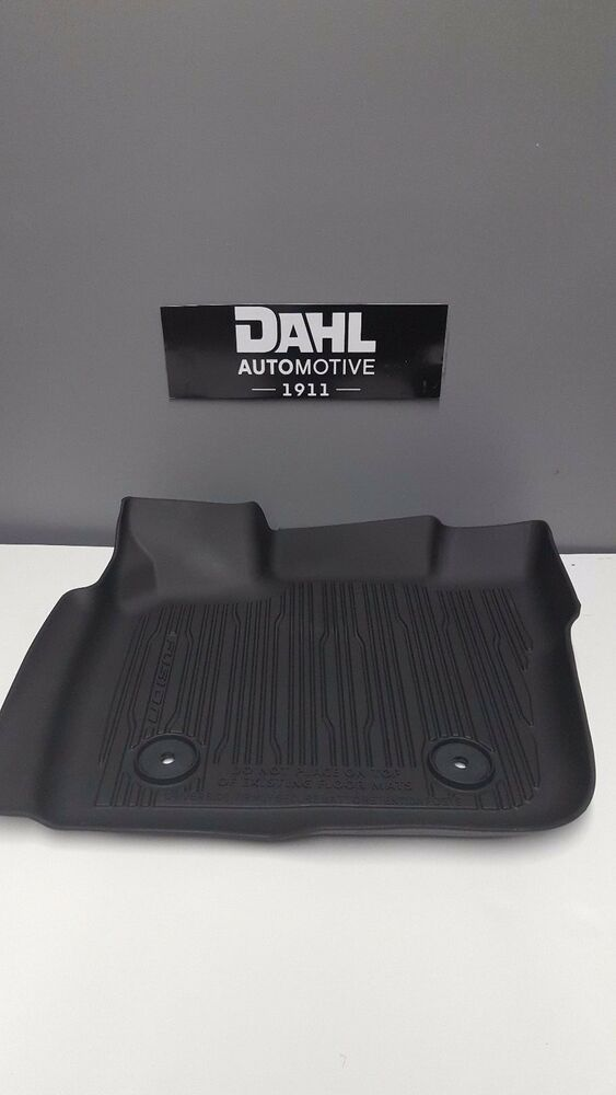Genuine Ford 2017 Fusion All Weather Tray Style Floor Mats