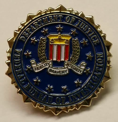 lot of 3 pins doj fbi federal bureau of investigation lapel hat pin tie tack ebay. Black Bedroom Furniture Sets. Home Design Ideas