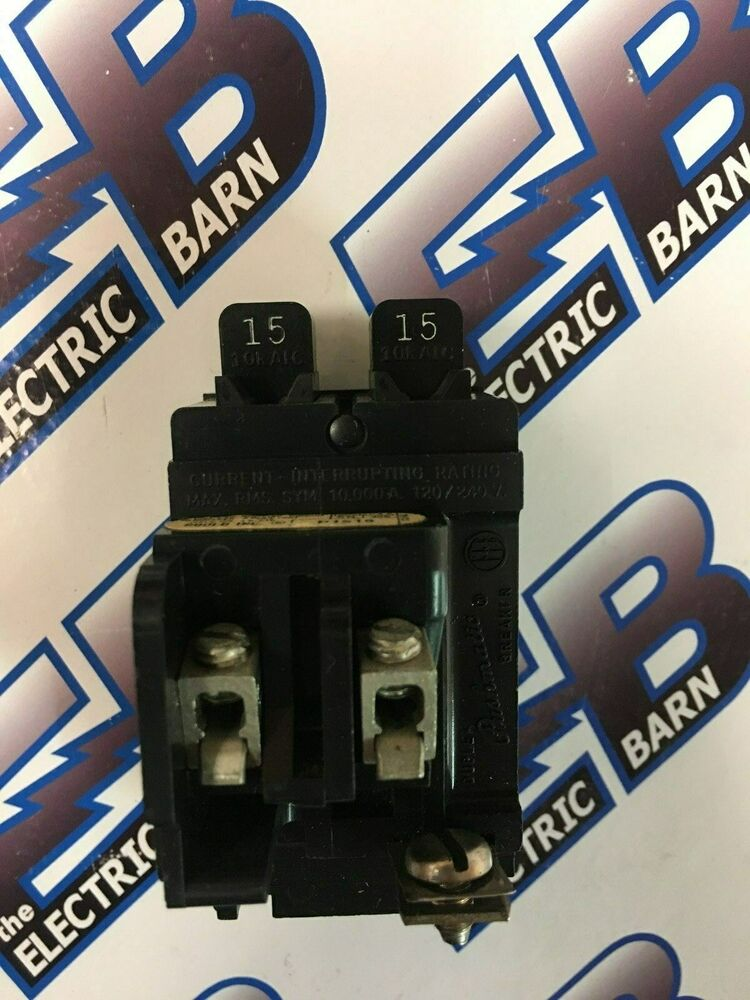 Ite P1515 15 Amp Tandem Pushmatic Circuit Breaker