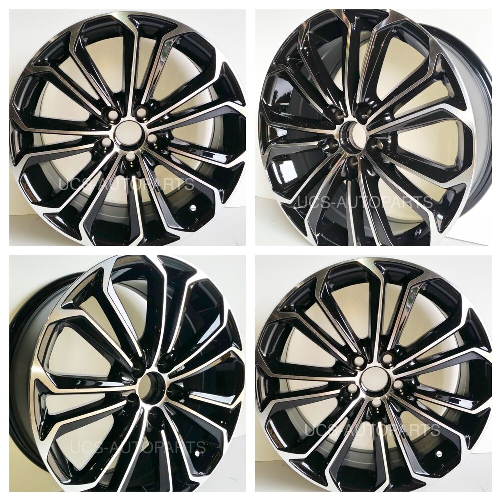 New Replacement 17 Quot Wheels Rims Toyota Corolla 2003 2017