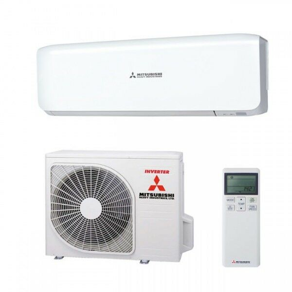 mitsubishi single split klimaanlage srk 35 zs s set 3 5 kw inverter ebay. Black Bedroom Furniture Sets. Home Design Ideas