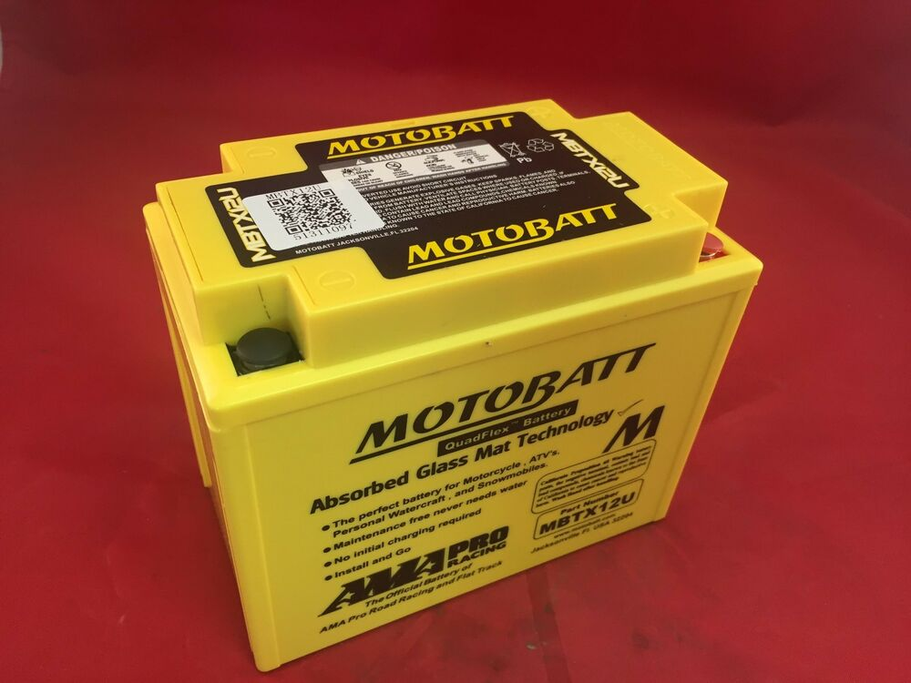 agm harley davidson battery by motobatt mbtx12u for v rod. Black Bedroom Furniture Sets. Home Design Ideas