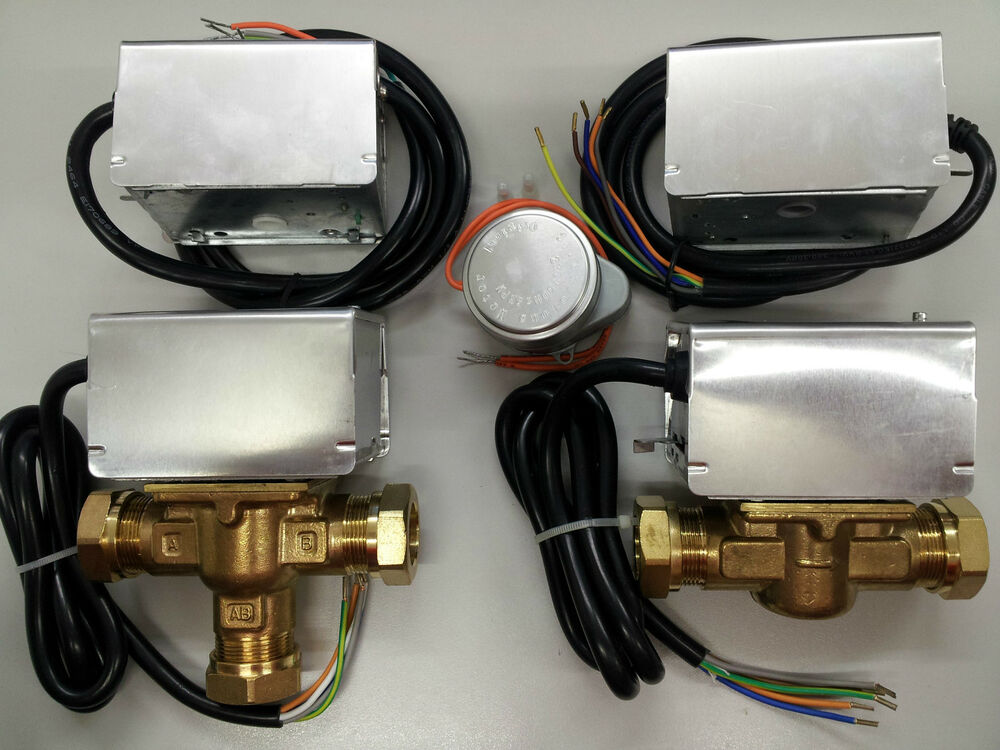 Motorised zone valves heads direct honeywell replacement for Honeywell valve motor replacement