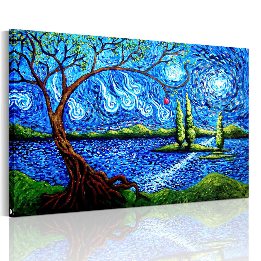 Hd canvas prints decor wall art painting picture abstract for Wall art painting