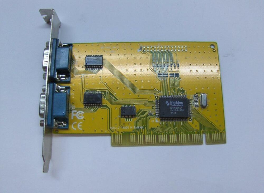 Details About NetMos Technology PCI 1 Port ECP EPP Card With Chipset E119801