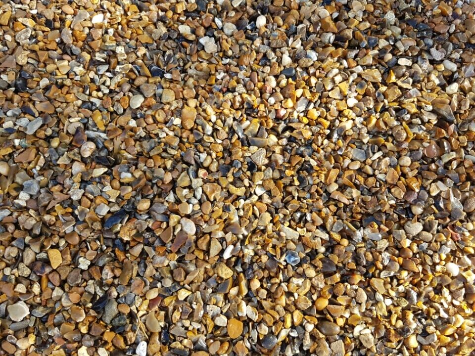 bulk bag 10mm pea gravel stone shingle 850kg drainage. Black Bedroom Furniture Sets. Home Design Ideas