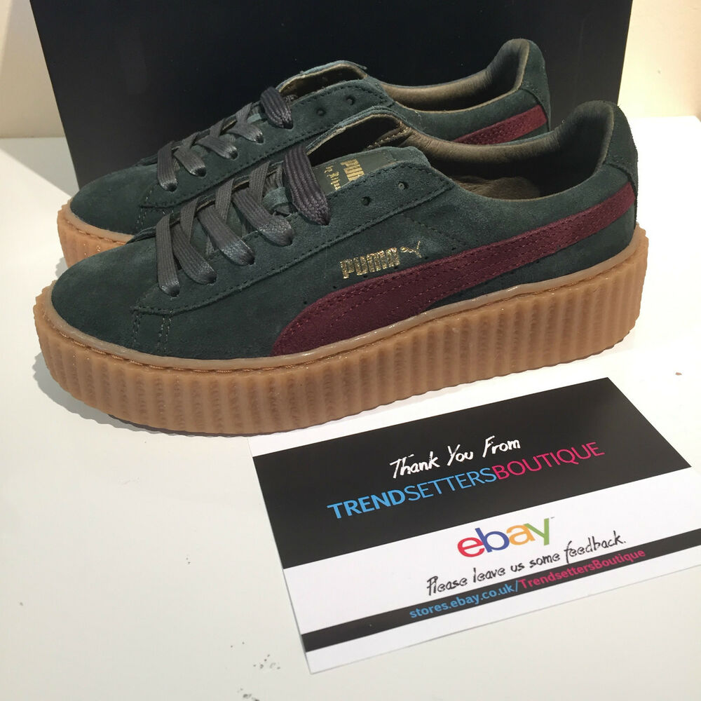 PUMA RIHANNA FENTY CREEPERS US UK 3.5 4 4.5 5 6 7 8