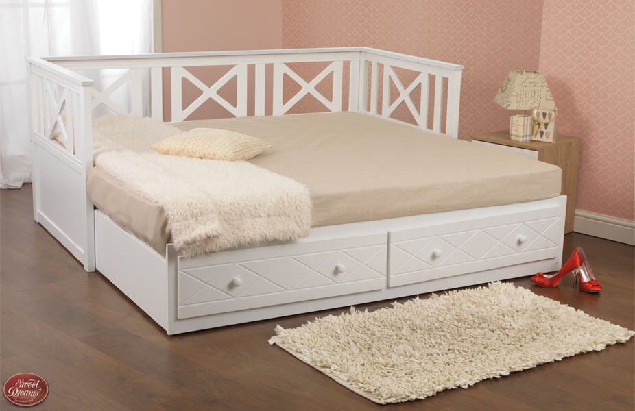 Sweet Dreams Georgia Quality Solid Pine Wooden Day Bed In