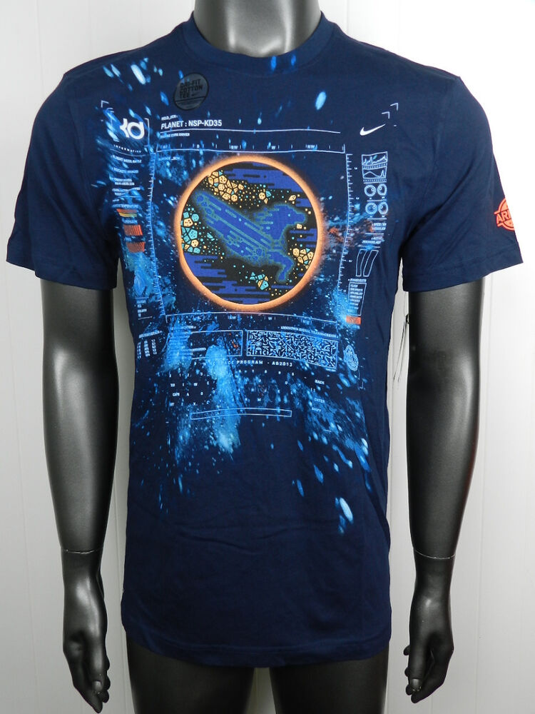 Nike kd area 72 all star size xl new mens kevin durant for Kd t shirt nike