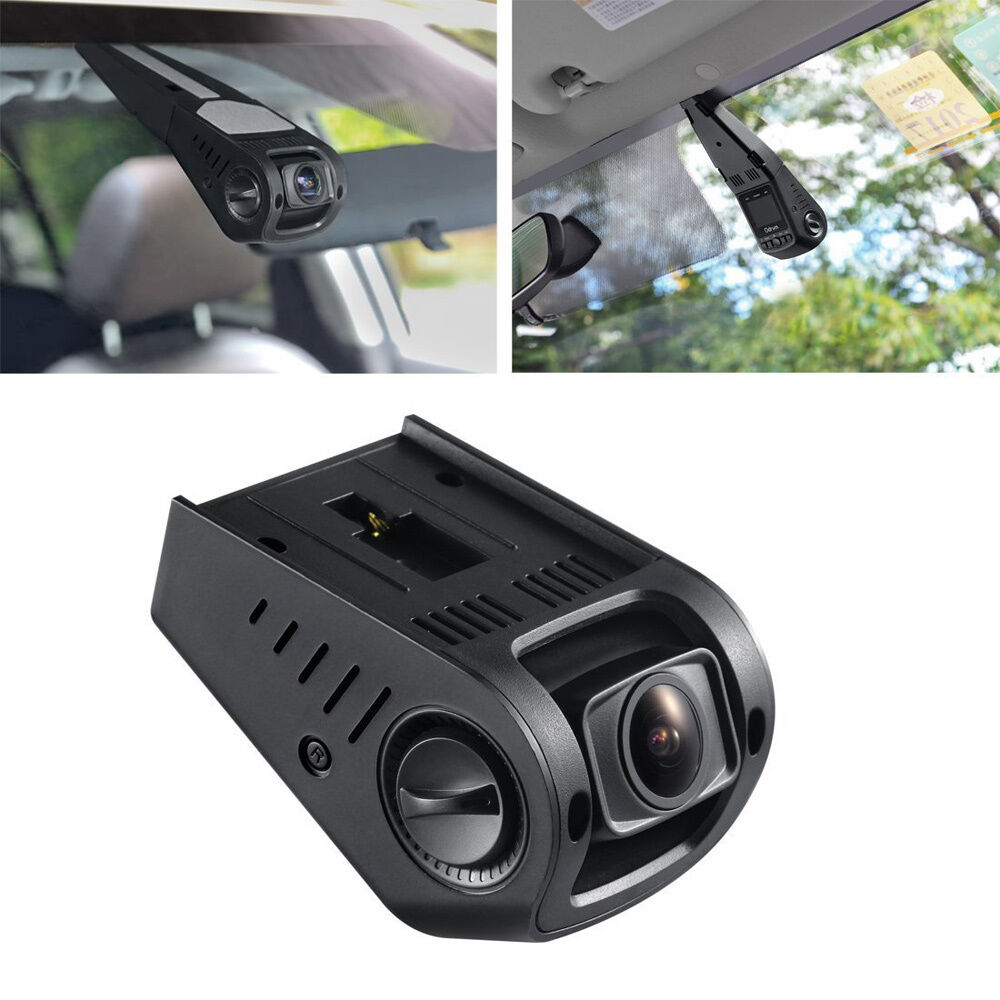 1080P Hidden Dash Camera Recorder Wide Angle Stealth Dash