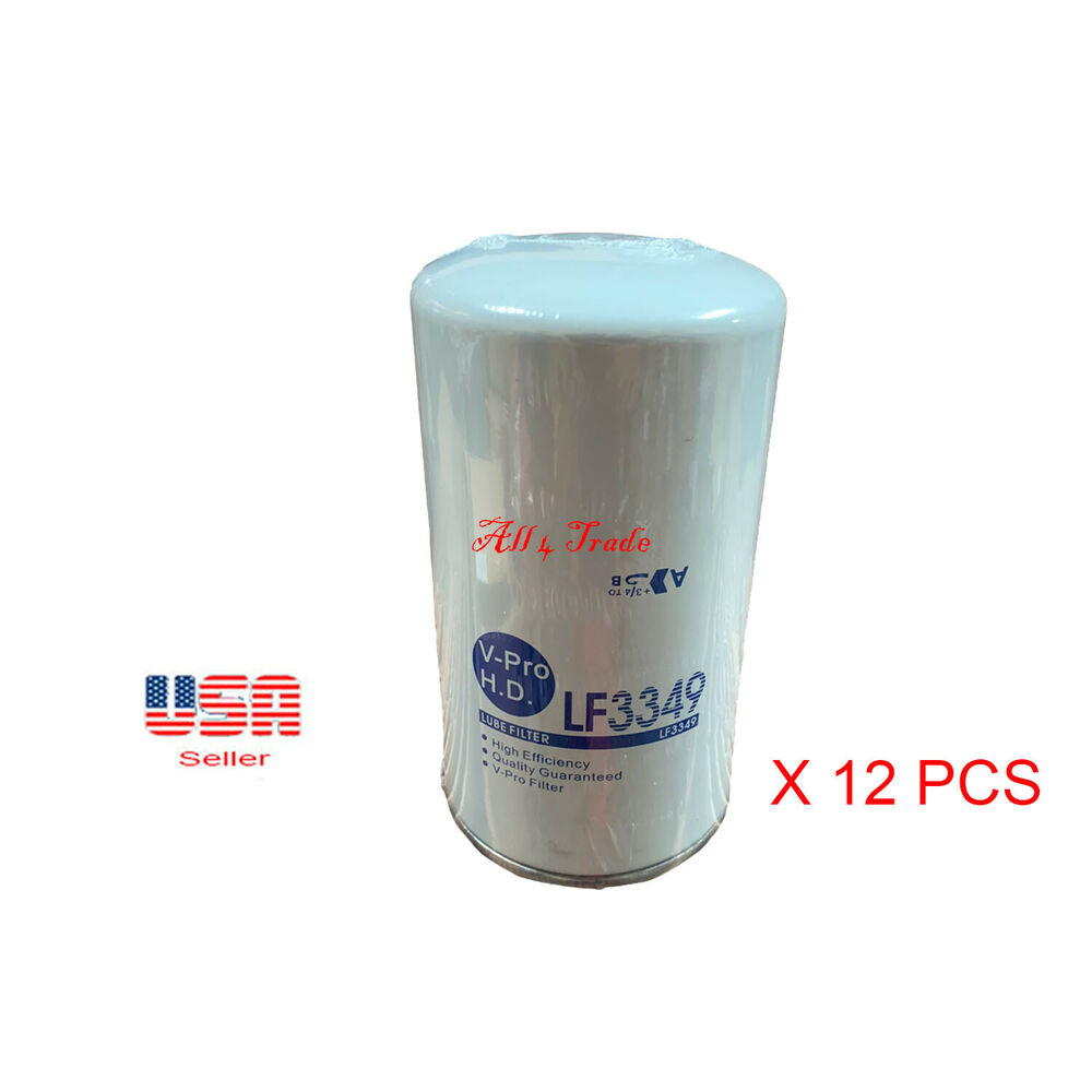 Ebay F350 6 0 Fuel Filters Wiring Diagrams Filter Location Diesel 12 Engine Oil Filte Lf3349 Fits Ford F250 F450 F550 Powerstroke Updated