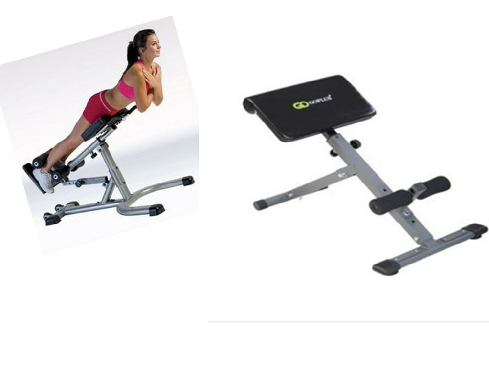 Home Adjustable Ab Back Bench Hyperextension Exercise
