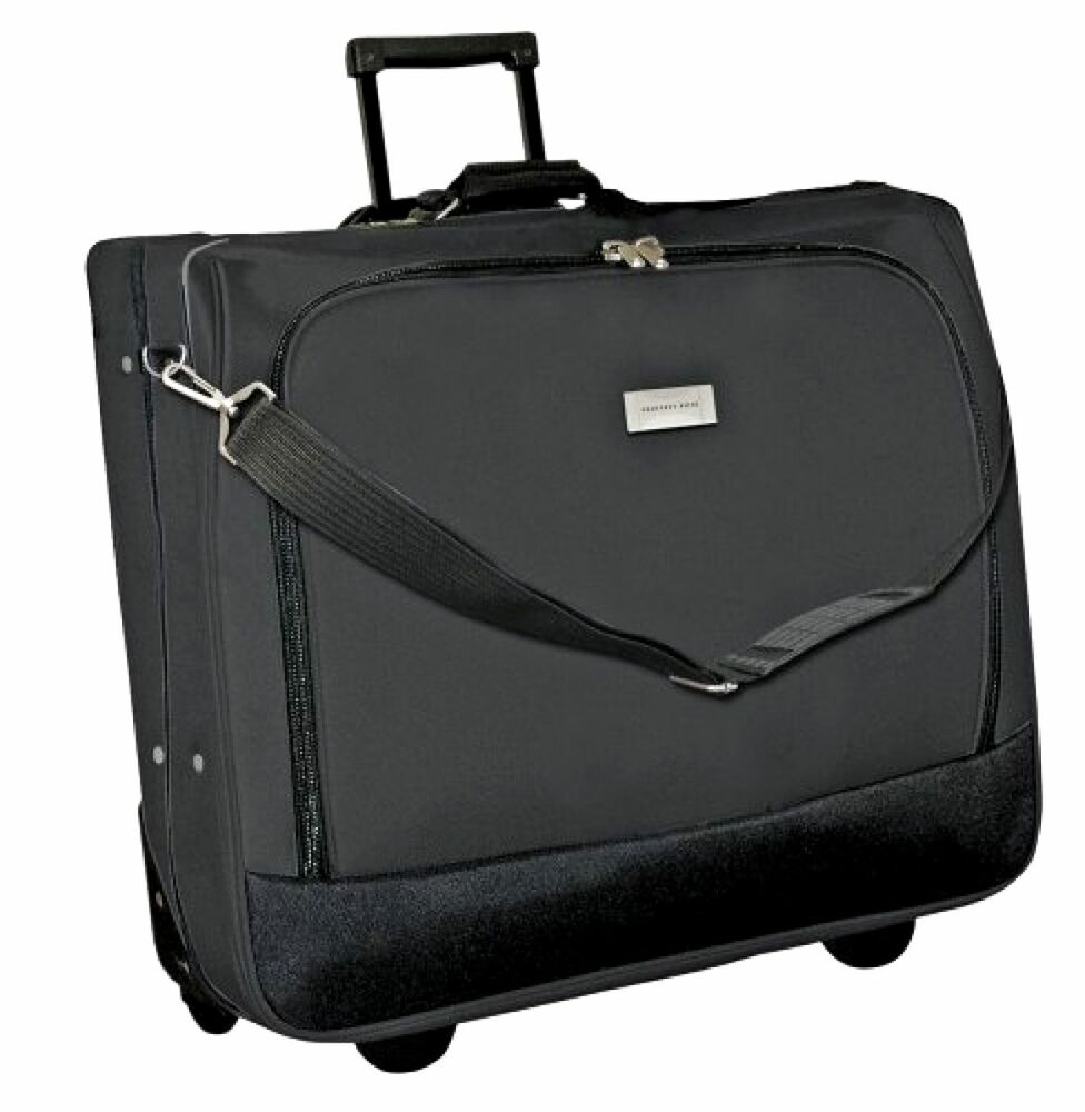 New Geoffrey Beene Rolling Garment Travel Carrier Luggage ...