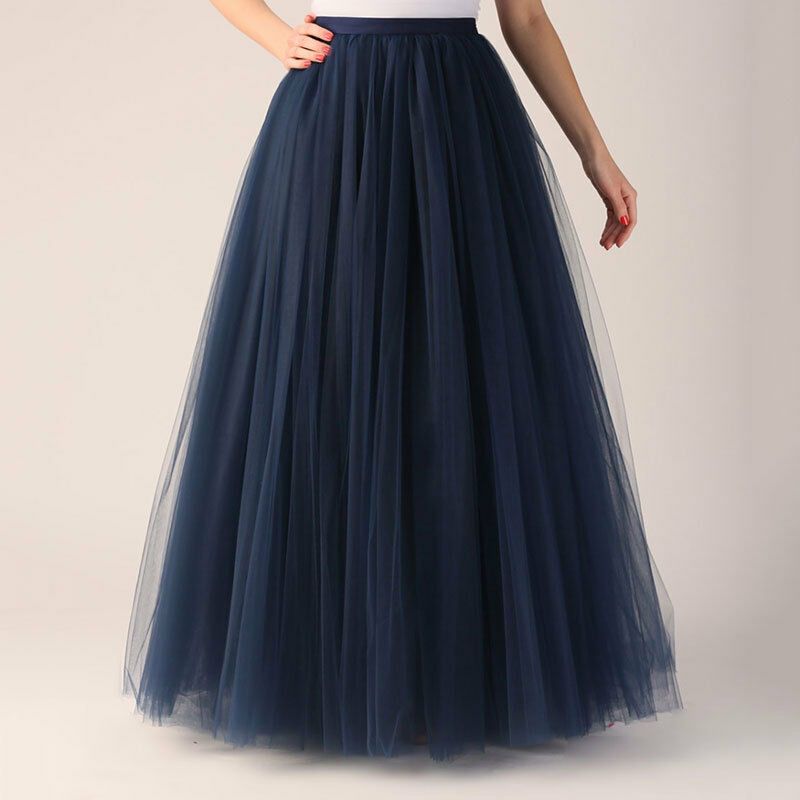 Awesome 2015 Long Celebrity Skirts Womens Midi Tulle Skirt Princess Adult Tutu
