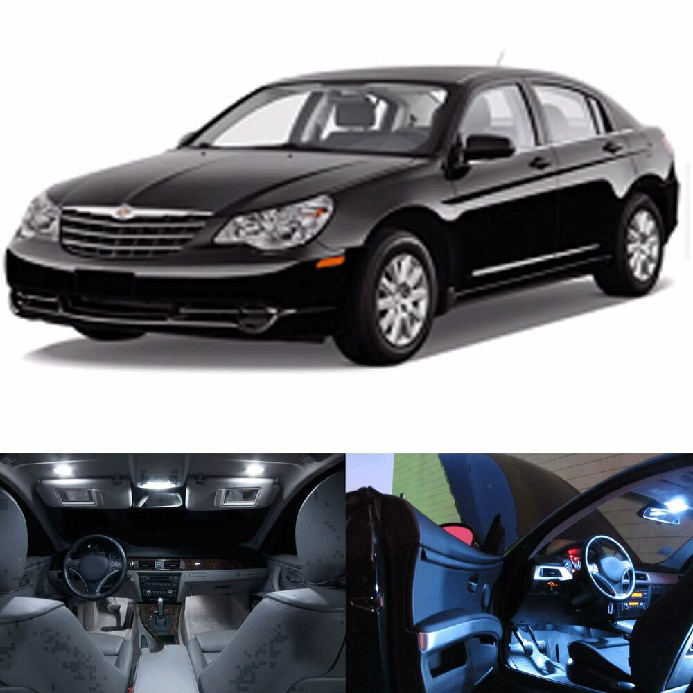 LED White Lights Interior Package Kit For Chrysler Sebring