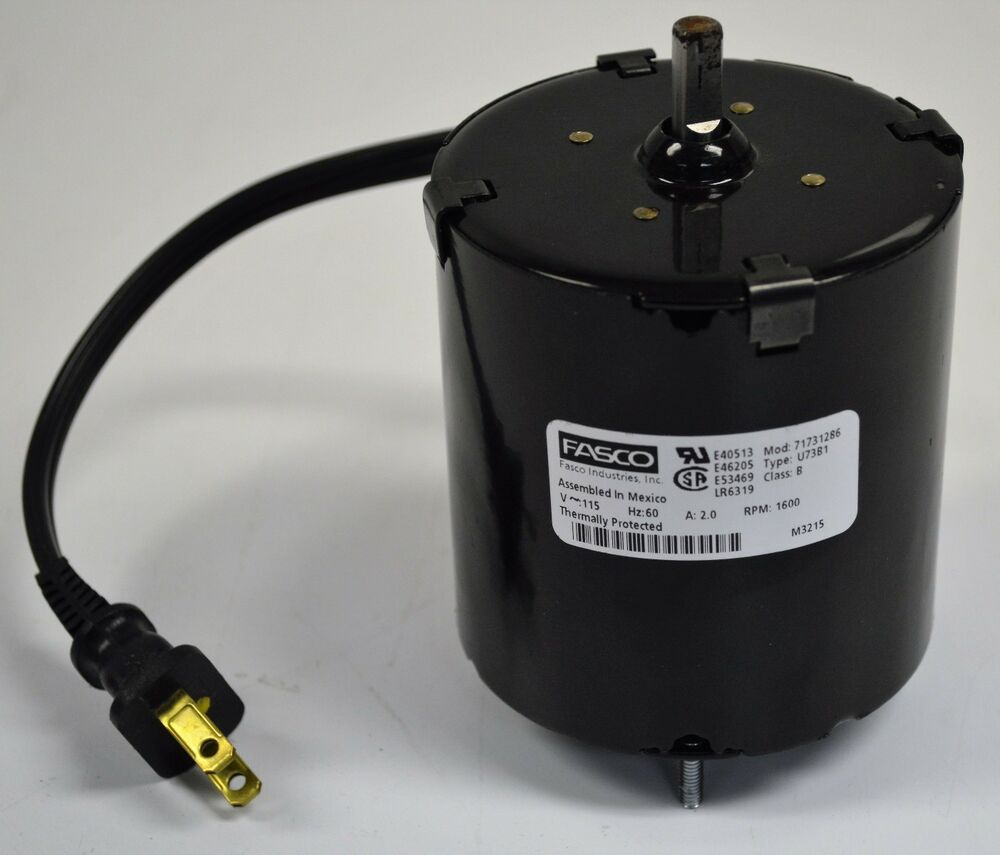 Fasco u73b1 electric motor 115v 60 hz 2 0 a 1600 rpm 3 for 1 20 hp electric motor
