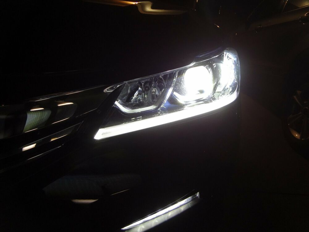 2016 2017 Accord HID/LED complete front kit. Except High beams. | eBay