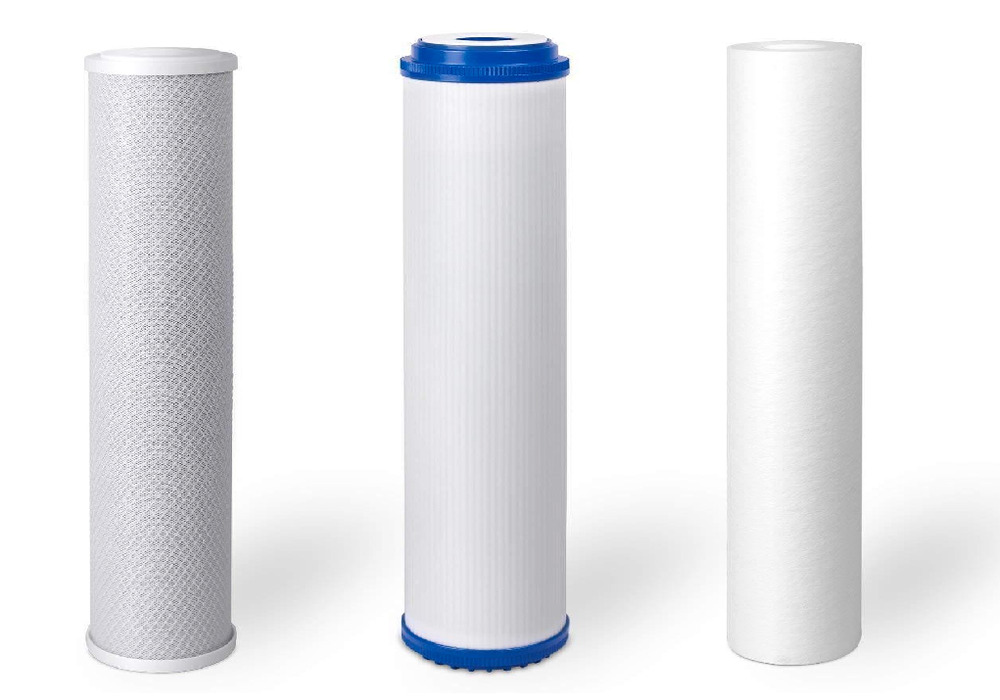 how to change a water sediment filter