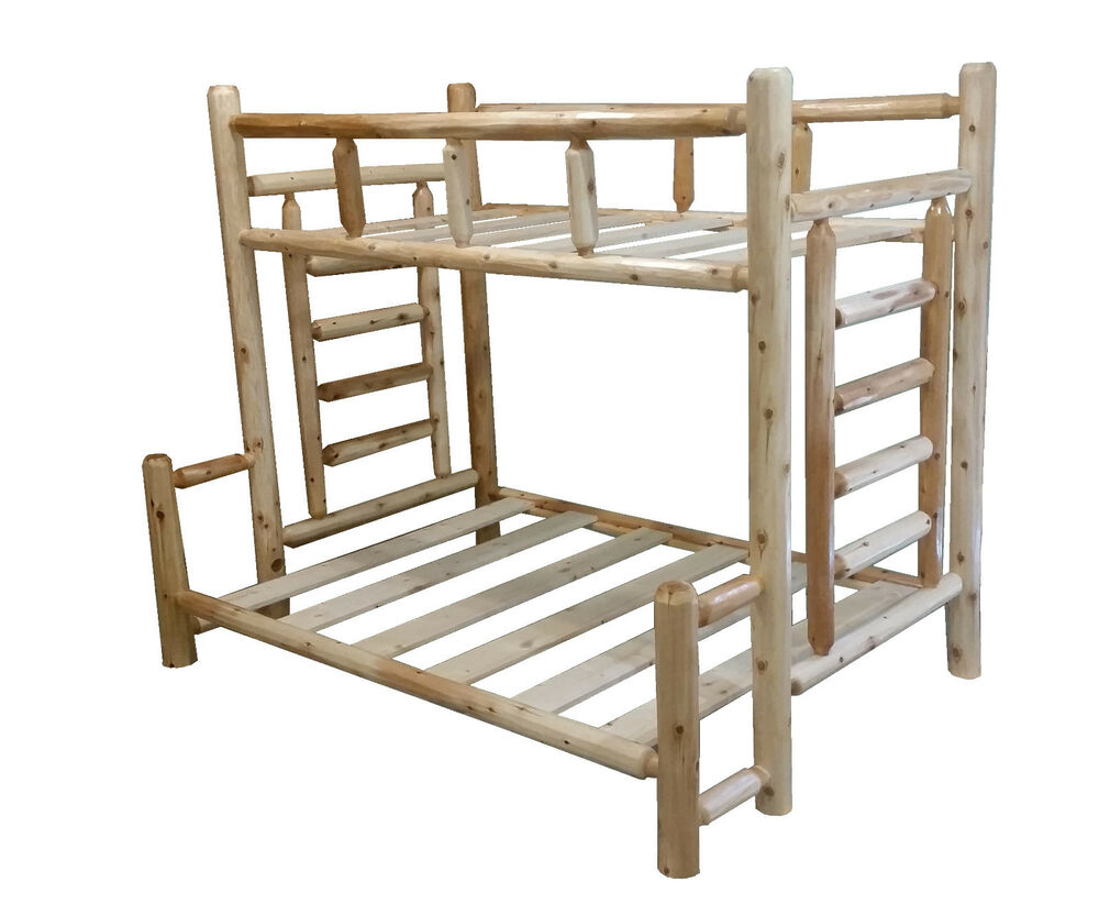 1 Selling Rustic Cedar Log Bunk Bed Choose Your Size