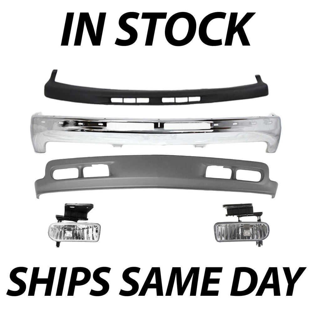 NEW Complete Front Bumper Kit w Fog Lights For    2000   2006 Chevy    Suburban    Tahoe   eBay