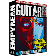 GHOST Guitar Tabs CD-ROM Digital Lessons Software Ghost BC Tablature
