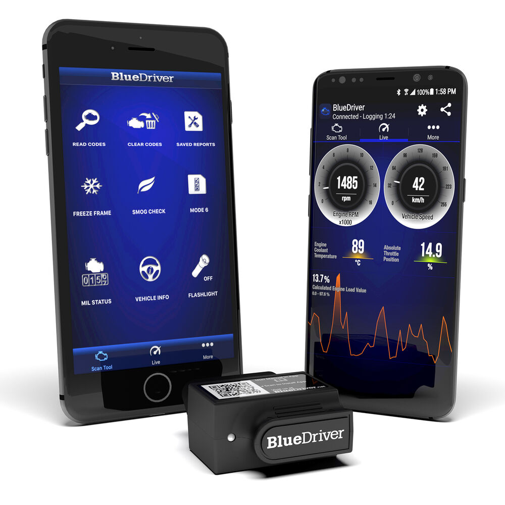 BlueDriver® - Bluetooth Professional OBDII Scan Tool for Android and iPhone | eBay