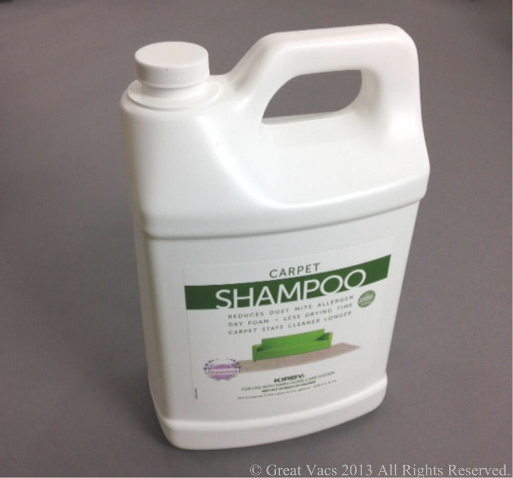 New 1 Gallon Kirby Vacuum Cleaner Carpet Scented Shampoo