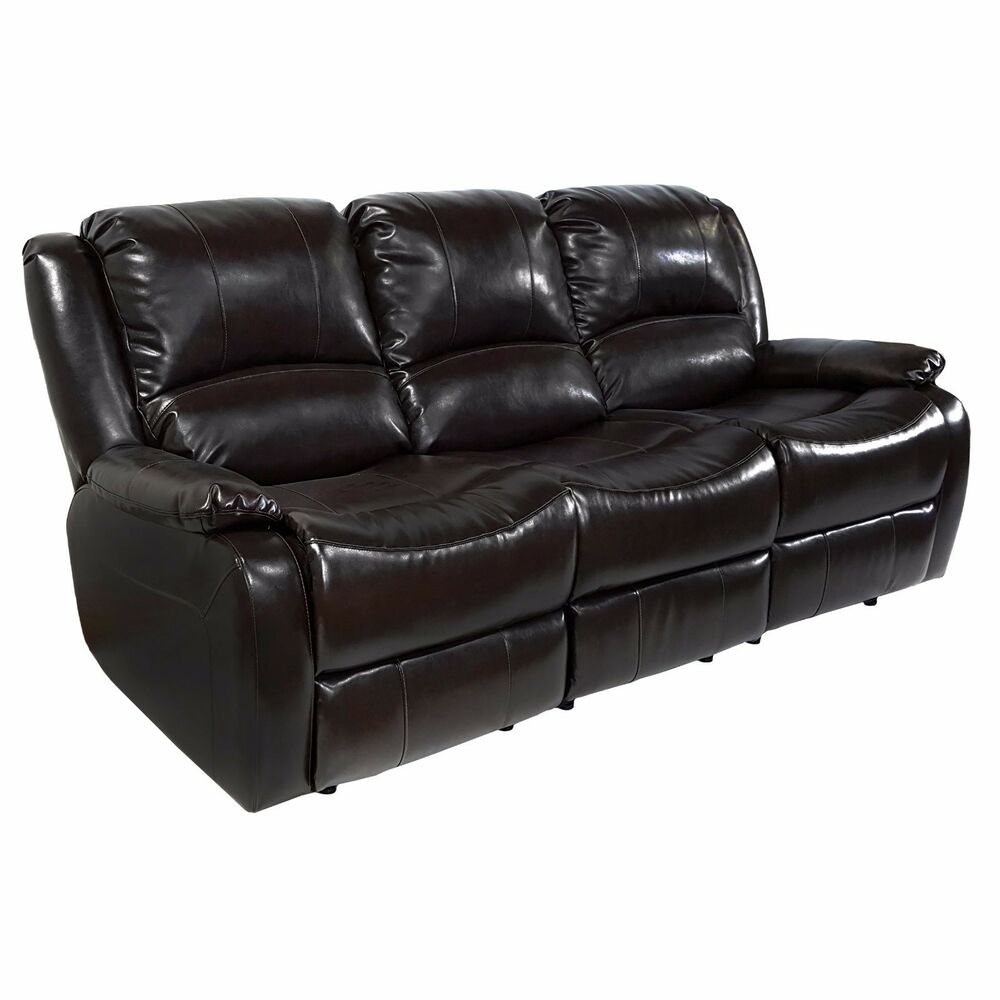 Recpro Charles 80 Quot Triple Rv Zero Wall Recliner Sofa W