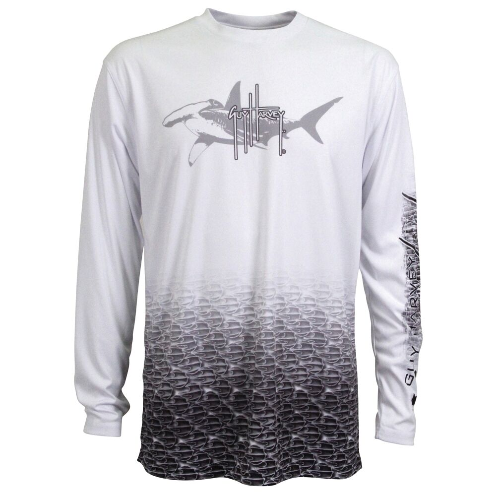 Guy Harvey Pro Uvx Hammerhead Performance Fishing Shirt