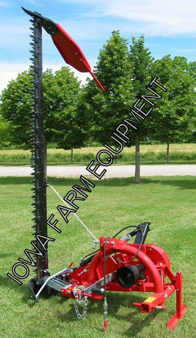 Sickle Bar Mower 3 Point : Enorossi bf h pt sickle bar mower ditch bank