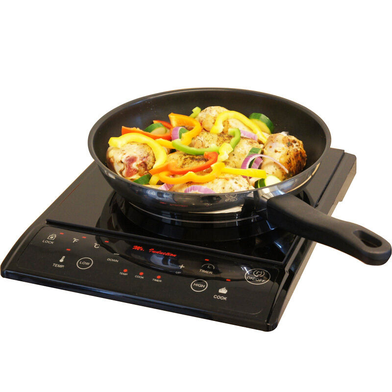 portable induction cooktop countertop single burner stove top electric cooker 876840004474 ebay. Black Bedroom Furniture Sets. Home Design Ideas