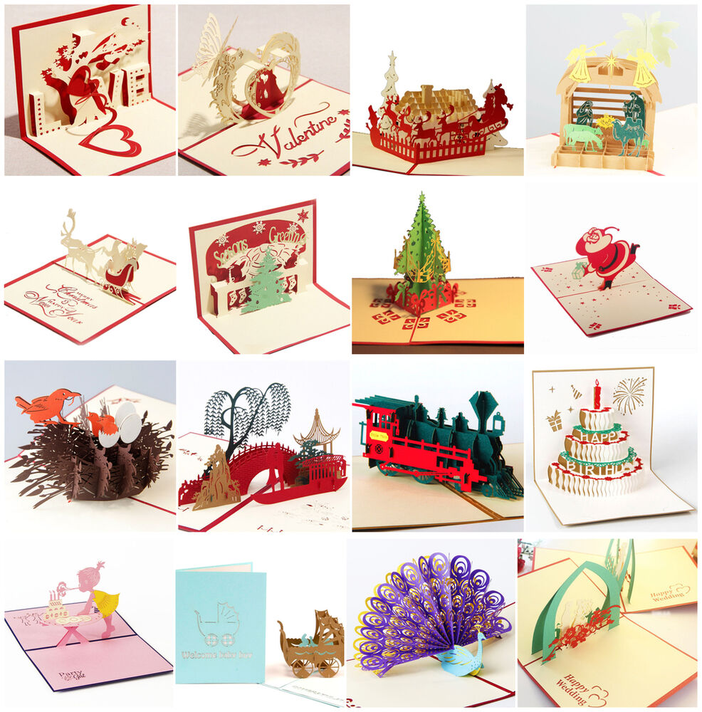 how to make 3d greeting cards for birthday