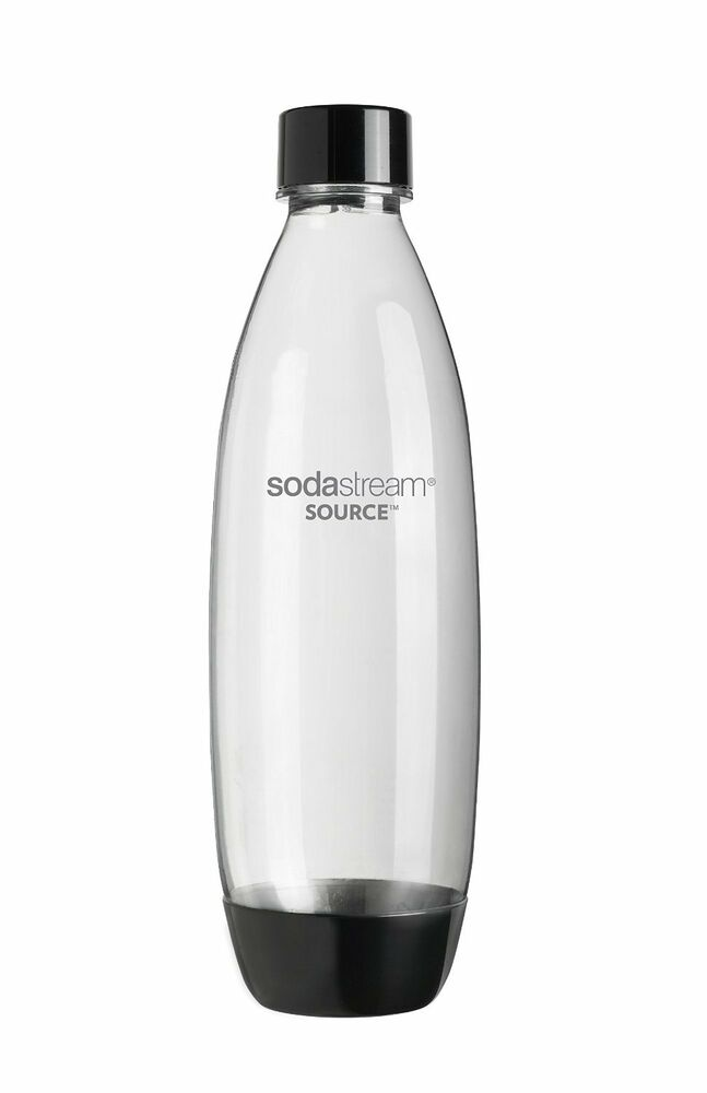 sodastream 1l black carbonating bottle x1 x2 x3. Black Bedroom Furniture Sets. Home Design Ideas