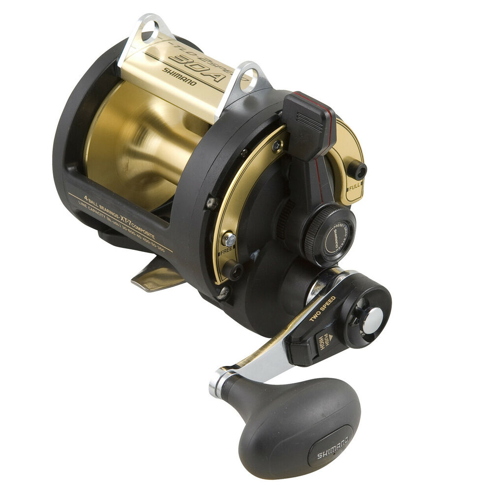 Shimano TLD 2 Speed 50LRSA Overhead Fishing Reel BRAND NEW at Ottos Tackle World | eBay